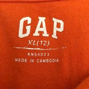 GAP Shirts & Tops - Boys orange floral Hawaiian gap kids polo shirt